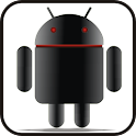 Droid doo-dad black icon