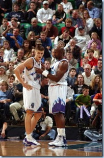 Karl left for LA this season, but he did teach Andrei some things in the time they shared together
