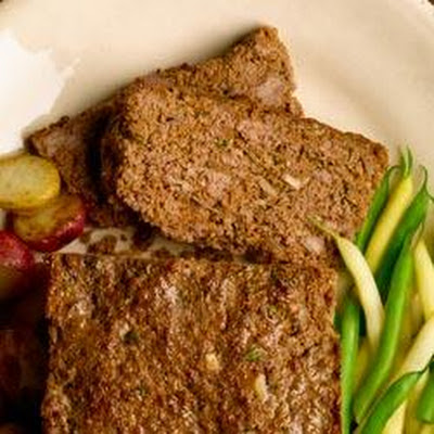 All-Bran Classic Beef and Mushroom Meatloaf