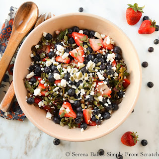 mushroom and thyme farro salad farro and cherry salad with i mentioned ...