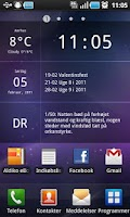 Screenshot of Glass Widgets