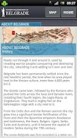 Screenshot of Belgrade City Guide LITE