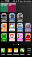 Screenshot of iPhone Style Folders2