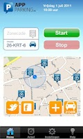 Screenshot of App-Parking