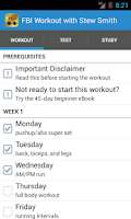 Screenshot of FBI Workout with Stew Smith