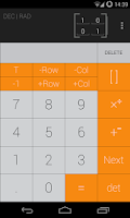 Screenshot of Calculator iOS7 Theme