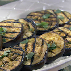 Curried Grilled Eggplant
