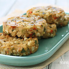 Baked Corn and Crab Cakes