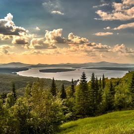 Rangeley Maine by Carol Plummer - Instagram & Mobile iPhone ( maine, trail, lake, appalachian, hiking )