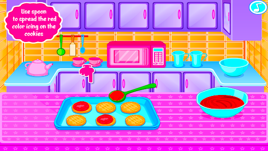 Sweet Cookies - Game for Girls- screenshot thumbnail