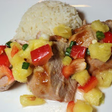 Pork Tenderloin With Fresh Pineapple Salsa