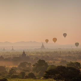 The temples in Bagan by John Einar Sandvand - Buildings & Architecture Public & Historical ( myanmar, bagan )