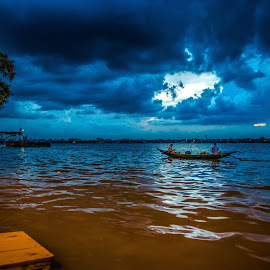by Dipanjan Bhattacharya - Transportation Boats