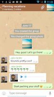 Screenshot of Pretty Messenger for Telegram
