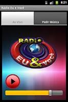 Screenshot of Rádio Eu e Você