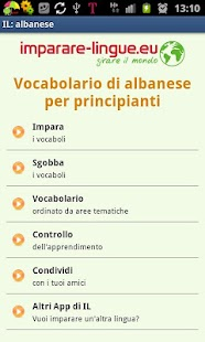 Imparare l'albanese - screenshot