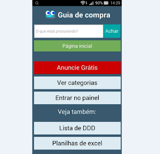 Guia de Compra Mobile - screenshot