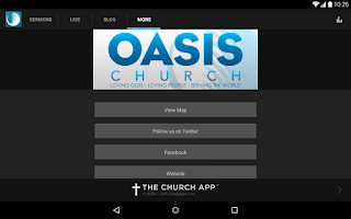 Screenshot of Oasis Church Nashville