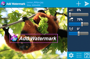 Screenshot of Add Watermark Free