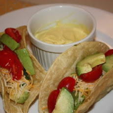 Mustard Girl Avocado Tacos