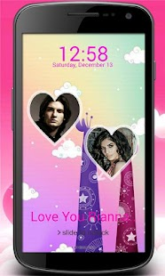 Love Couple Lock Screen - screenshot