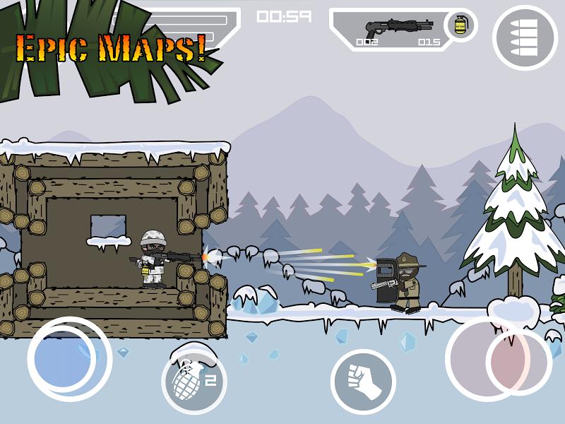 Doodle Army 2 : Mini Militia Screenshot 13