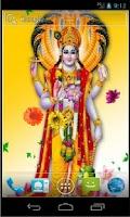 Screenshot of Lord Vishnu HD Live Wallpaper