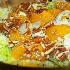 Mandarin Orange Salad With Warm  Poppy Seed Dressing