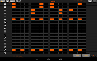 Screenshot of PocketBand Pro - Social DAW