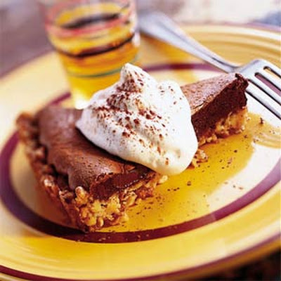 Chocolate Tart with Nut Crust