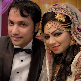 by Md Zobaer Ahmed - Wedding Bride & Groom