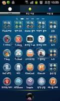 Screenshot of Bubble Theme GO Launcher EX