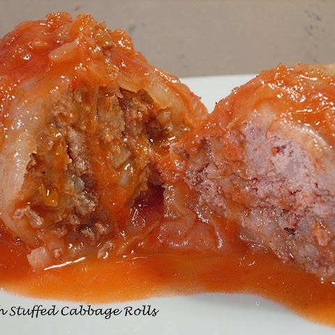 Polish Stuffed Cabbage Rolls with Grandma