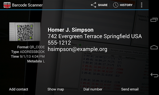 App Barcode Scanner APK for Kindle