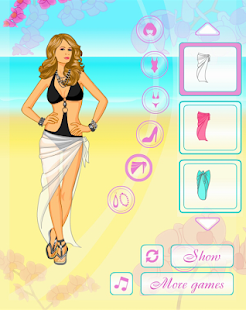 Dress Up Beach Girl- screenshot thumbnail