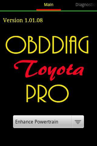 OBDDiag Toyota Pro