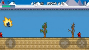 Screenshot of Ninja Run
