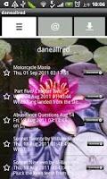 Screenshot of daneallred