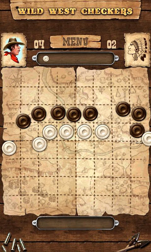 玩免費休閒APP 下載Wild West Checkers app不用錢 硬是要APP