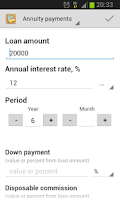 Screenshot of Simple Loan Calculator