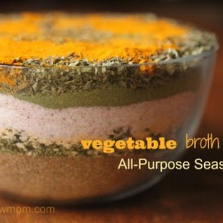 Vegetable Broth Mix Recipe | All-Purpose Seasoning