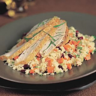 Warm Chicken and Couscous Salad