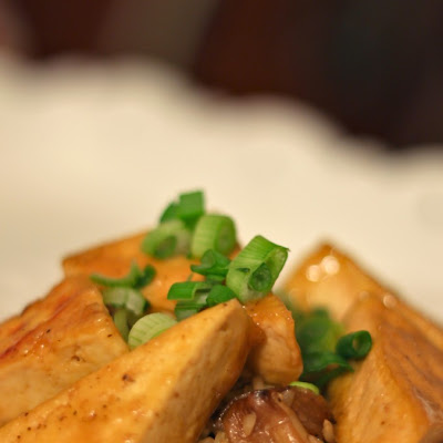 Orange Pan-Glazed Tofu
