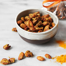 Ginger Curry Candied Almonds