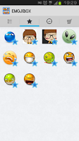 Screenshot of EmojiBox