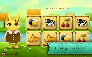 Screenshot of Becca's Matching Game (Demo)