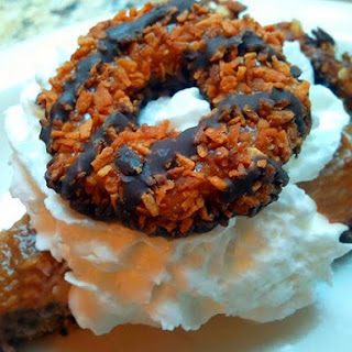 Chocolate Pudding Pie in a Samoas Cookie Crust