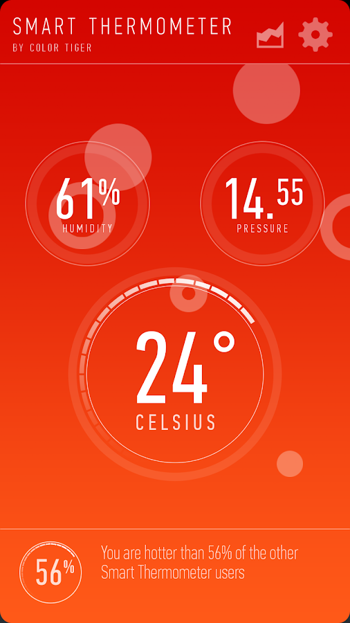 Smart Thermometer Screenshot 1