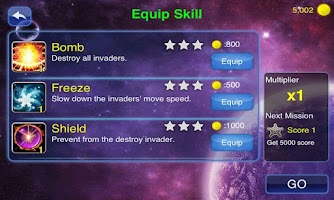 Screenshot of Galaxy Invader : Alien War