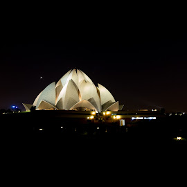 Bahai Temple by Avanish Dureha - Buildings & Architecture Places of Worship ( lotus temple, new delhi, dureha@gmail.com, avanish dureha, bahai temple )